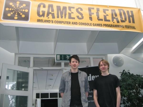 RoboCode 2010 - Ciarán McCann and Carl Lange