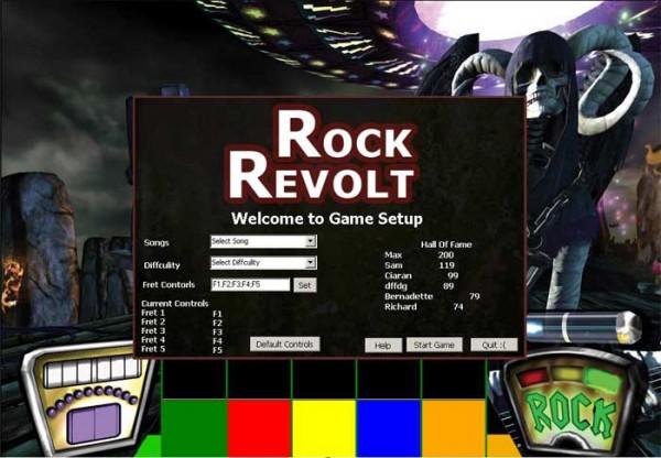 Guitar Hero Clone