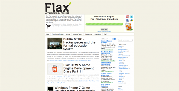 FlaxProjectWebsite